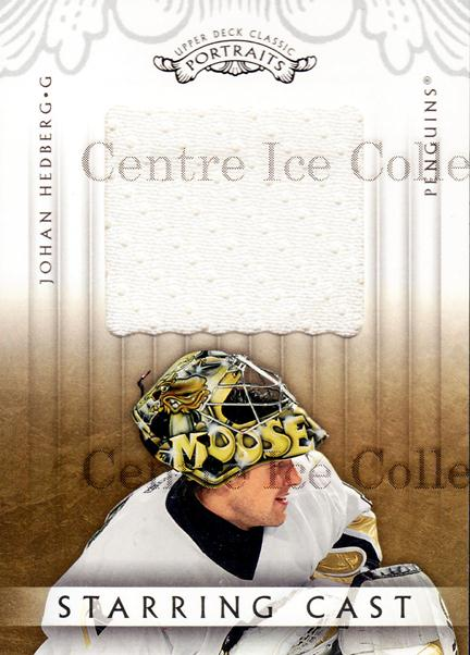 2003-04 UD Classic Portraits Starring Cast #JH Johan Hedberg<br/>1 In Stock - $5.00 each - <a href=https://centericecollectibles.foxycart.com/cart?name=2003-04%20UD%20Classic%20Portraits%20Starring%20Cast%20%23JH%20Johan%20Hedberg...&quantity_max=1&price=$5.00&code=579197 class=foxycart> Buy it now! </a>