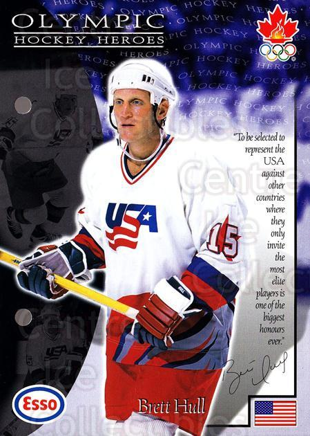 1997-98 Esso Olympic Hockey Heroes #27 Brett Hull<br/>3 In Stock - $3.00 each - <a href=https://centericecollectibles.foxycart.com/cart?name=1997-98%20Esso%20Olympic%20Hockey%20Heroes%20%2327%20Brett%20Hull...&quantity_max=3&price=$3.00&code=57925 class=foxycart> Buy it now! </a>
