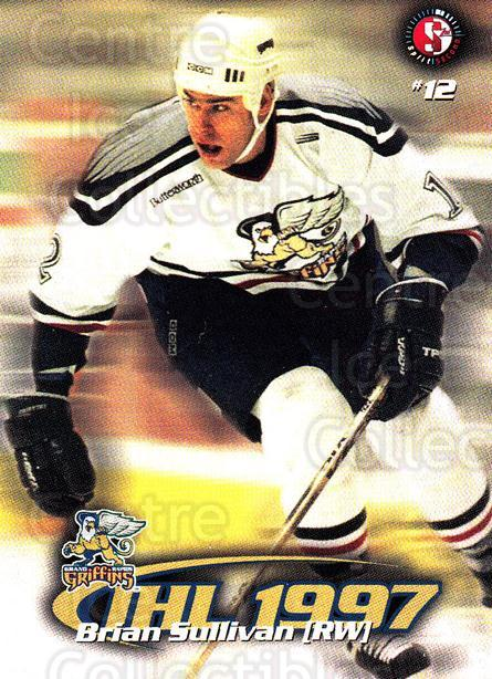 1997-98 Grand Rapids Griffins #17 Brian Sullivan<br/>2 In Stock - $3.00 each - <a href=https://centericecollectibles.foxycart.com/cart?name=1997-98%20Grand%20Rapids%20Griffins%20%2317%20Brian%20Sullivan...&price=$3.00&code=57969 class=foxycart> Buy it now! </a>