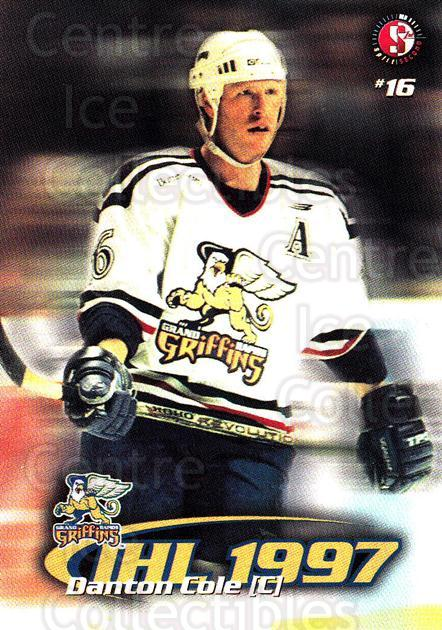 1997-98 Grand Rapids Griffins #4 Danton Cole<br/>1 In Stock - $3.00 each - <a href=https://centericecollectibles.foxycart.com/cart?name=1997-98%20Grand%20Rapids%20Griffins%20%234%20Danton%20Cole...&price=$3.00&code=57978 class=foxycart> Buy it now! </a>