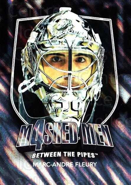 2011-12 Between The Pipes Masked Men 4 Silver #17 Marc-Andre Fleury<br/>4 In Stock - $5.00 each - <a href=https://centericecollectibles.foxycart.com/cart?name=2011-12%20Between%20The%20Pipes%20Masked%20Men%204%20Silver%20%2317%20Marc-Andre%20Fleu...&quantity_max=4&price=$5.00&code=579858 class=foxycart> Buy it now! </a>