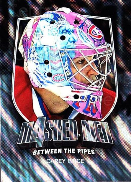 2011-12 Between The Pipes Masked Men 4 Silver #35 Carey Price<br/>4 In Stock - $15.00 each - <a href=https://centericecollectibles.foxycart.com/cart?name=2011-12%20Between%20The%20Pipes%20Masked%20Men%204%20Silver%20%2335%20Carey%20Price...&quantity_max=4&price=$15.00&code=579876 class=foxycart> Buy it now! </a>
