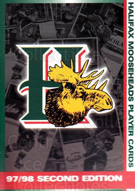 1997-98 Halifax Mooseheads Series Two #28 Halifax Mooseheads, Checklist<br/>5 In Stock - $3.00 each - <a href=https://centericecollectibles.foxycart.com/cart?name=1997-98%20Halifax%20Mooseheads%20Series%20Two%20%2328%20Halifax%20Moosehe...&quantity_max=5&price=$3.00&code=58005 class=foxycart> Buy it now! </a>