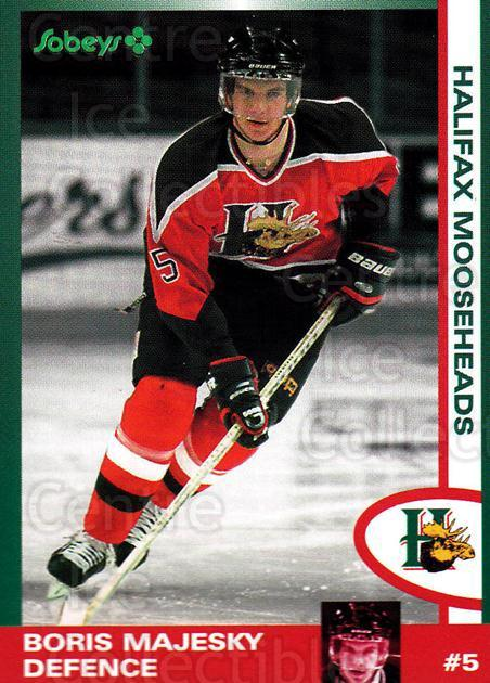 1997-98 Halifax Mooseheads Series Two #12 Boris Majesky<br/>5 In Stock - $3.00 each - <a href=https://centericecollectibles.foxycart.com/cart?name=1997-98%20Halifax%20Mooseheads%20Series%20Two%20%2312%20Boris%20Majesky...&quantity_max=5&price=$3.00&code=58007 class=foxycart> Buy it now! </a>