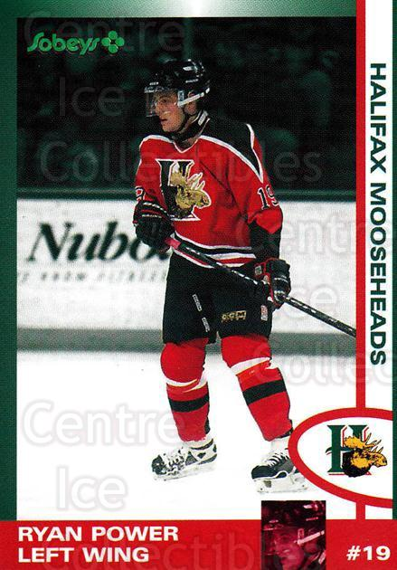 1997-98 Halifax Mooseheads Series Two #16 Ryan Power<br/>1 In Stock - $3.00 each - <a href=https://centericecollectibles.foxycart.com/cart?name=1997-98%20Halifax%20Mooseheads%20Series%20Two%20%2316%20Ryan%20Power...&quantity_max=1&price=$3.00&code=58010 class=foxycart> Buy it now! </a>
