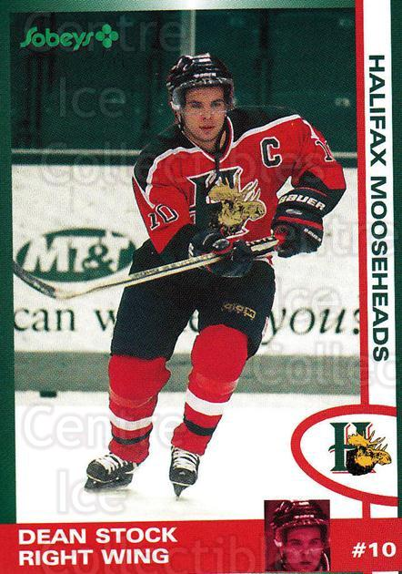 1997-98 Halifax Mooseheads Series Two #20 Dean Stock<br/>3 In Stock - $3.00 each - <a href=https://centericecollectibles.foxycart.com/cart?name=1997-98%20Halifax%20Mooseheads%20Series%20Two%20%2320%20Dean%20Stock...&quantity_max=3&price=$3.00&code=58013 class=foxycart> Buy it now! </a>