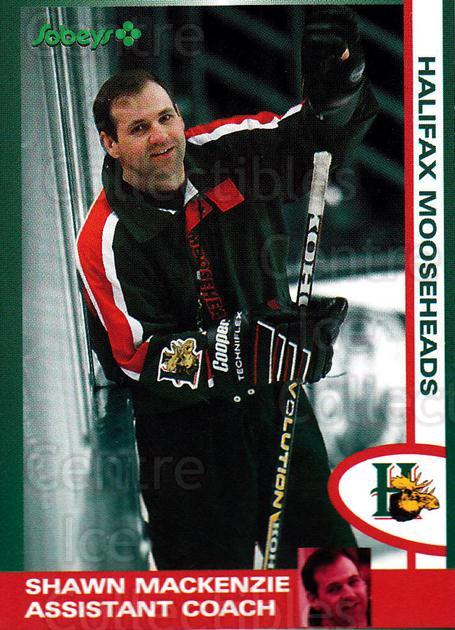 1997-98 Halifax Mooseheads Series Two #11 Shawn MacKenzie<br/>3 In Stock - $3.00 each - <a href=https://centericecollectibles.foxycart.com/cart?name=1997-98%20Halifax%20Mooseheads%20Series%20Two%20%2311%20Shawn%20MacKenzie...&quantity_max=3&price=$3.00&code=58019 class=foxycart> Buy it now! </a>
