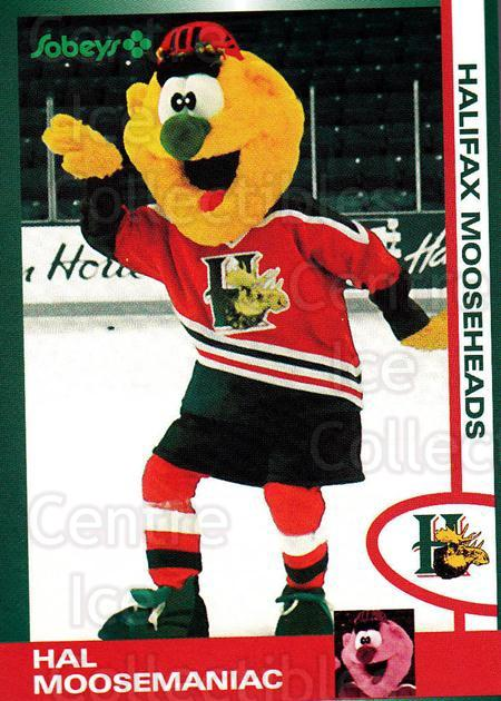 1997-98 Halifax Mooseheads Series Two #27 Mascot<br/>5 In Stock - $3.00 each - <a href=https://centericecollectibles.foxycart.com/cart?name=1997-98%20Halifax%20Mooseheads%20Series%20Two%20%2327%20Mascot...&quantity_max=5&price=$3.00&code=58021 class=foxycart> Buy it now! </a>