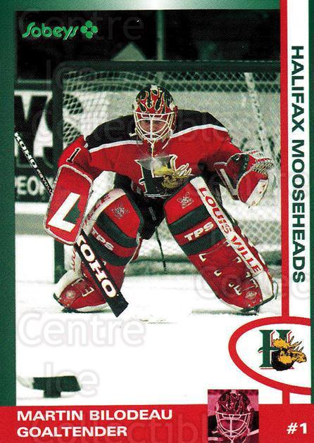 1997-98 Halifax Mooseheads Series Two #2 Martin Bilodeau<br/>5 In Stock - $3.00 each - <a href=https://centericecollectibles.foxycart.com/cart?name=1997-98%20Halifax%20Mooseheads%20Series%20Two%20%232%20Martin%20Bilodeau...&quantity_max=5&price=$3.00&code=58023 class=foxycart> Buy it now! </a>