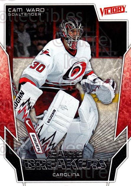 2007-08 UD Victory Game Breakers #21 Cam Ward<br/>1 In Stock - $2.00 each - <a href=https://centericecollectibles.foxycart.com/cart?name=2007-08%20UD%20Victory%20Game%20Breakers%20%2321%20Cam%20Ward...&price=$2.00&code=581474 class=foxycart> Buy it now! </a>