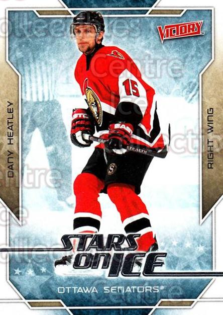 2007-08 UD Victory Stars on Ice #11 Dany Heatley<br/>4 In Stock - $2.00 each - <a href=https://centericecollectibles.foxycart.com/cart?name=2007-08%20UD%20Victory%20Stars%20on%20Ice%20%2311%20Dany%20Heatley...&quantity_max=4&price=$2.00&code=581495 class=foxycart> Buy it now! </a>