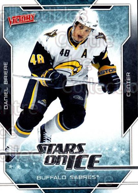 2007-08 UD Victory Stars on Ice #47 Daniel Briere<br/>4 In Stock - $2.00 each - <a href=https://centericecollectibles.foxycart.com/cart?name=2007-08%20UD%20Victory%20Stars%20on%20Ice%20%2347%20Daniel%20Briere...&quantity_max=4&price=$2.00&code=581514 class=foxycart> Buy it now! </a>
