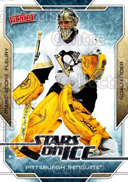 2007-08 UD Victory Stars on Ice #48 Marc-Andre Fleury<br/>2 In Stock - $2.00 each - <a href=https://centericecollectibles.foxycart.com/cart?name=2007-08%20UD%20Victory%20Stars%20on%20Ice%20%2348%20Marc-Andre%20Fleu...&quantity_max=2&price=$2.00&code=581515 class=foxycart> Buy it now! </a>