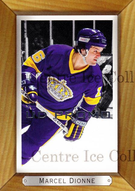 2003-04 Beehive UD Promos #87 Marcel Dionne<br/>1 In Stock - $3.00 each - <a href=https://centericecollectibles.foxycart.com/cart?name=2003-04%20Beehive%20UD%20Promos%20%2387%20Marcel%20Dionne...&quantity_max=1&price=$3.00&code=582094 class=foxycart> Buy it now! </a>