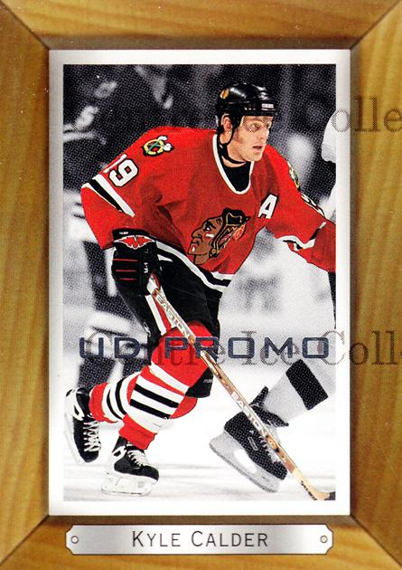 2003-04 Beehive UD Promos #41 Kyle Calder<br/>1 In Stock - $3.00 each - <a href=https://centericecollectibles.foxycart.com/cart?name=2003-04%20Beehive%20UD%20Promos%20%2341%20Kyle%20Calder...&quantity_max=1&price=$3.00&code=582164 class=foxycart> Buy it now! </a>