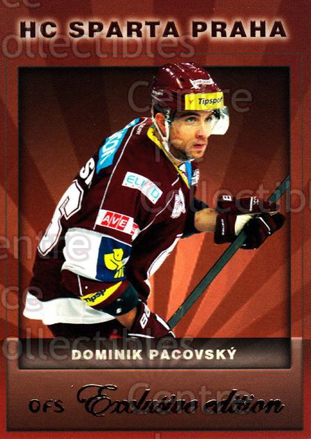 2012-13 Czech OFS Exclusive #3 Dominik Pacovsky<br/>2 In Stock - $2.00 each - <a href=https://centericecollectibles.foxycart.com/cart?name=2012-13%20Czech%20OFS%20Exclusive%20%233%20Dominik%20Pacovsk...&quantity_max=2&price=$2.00&code=582196 class=foxycart> Buy it now! </a>