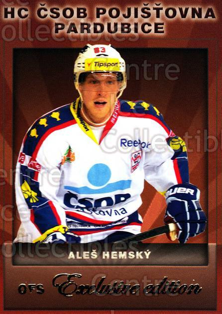 2012-13 Czech OFS Exclusive #14 Ales Hemsky<br/>3 In Stock - $2.00 each - <a href=https://centericecollectibles.foxycart.com/cart?name=2012-13%20Czech%20OFS%20Exclusive%20%2314%20Ales%20Hemsky...&quantity_max=3&price=$2.00&code=582207 class=foxycart> Buy it now! </a>