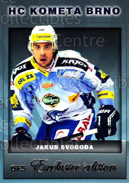 2012-13 Czech OFS Exclusive #26 Jakub Svoboda<br/>2 In Stock - $2.00 each - <a href=https://centericecollectibles.foxycart.com/cart?name=2012-13%20Czech%20OFS%20Exclusive%20%2326%20Jakub%20Svoboda...&quantity_max=2&price=$2.00&code=582219 class=foxycart> Buy it now! </a>