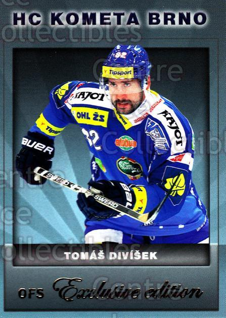 2012-13 Czech OFS Exclusive #27 Tomas Divisek<br/>1 In Stock - $2.00 each - <a href=https://centericecollectibles.foxycart.com/cart?name=2012-13%20Czech%20OFS%20Exclusive%20%2327%20Tomas%20Divisek...&quantity_max=1&price=$2.00&code=582220 class=foxycart> Buy it now! </a>