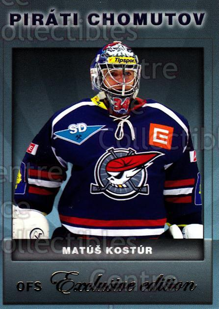 2012-13 Czech OFS Exclusive #31 Matus Kostur<br/>2 In Stock - $2.00 each - <a href=https://centericecollectibles.foxycart.com/cart?name=2012-13%20Czech%20OFS%20Exclusive%20%2331%20Matus%20Kostur...&quantity_max=2&price=$2.00&code=582224 class=foxycart> Buy it now! </a>