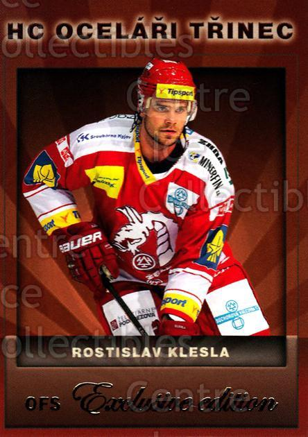 2012-13 Czech OFS Exclusive #41 Rostislav Klesla<br/>1 In Stock - $2.00 each - <a href=https://centericecollectibles.foxycart.com/cart?name=2012-13%20Czech%20OFS%20Exclusive%20%2341%20Rostislav%20Klesl...&quantity_max=1&price=$2.00&code=582234 class=foxycart> Buy it now! </a>