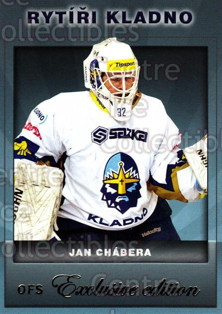 2012-13 Czech OFS Exclusive #50 Jan Chabera<br/>3 In Stock - $2.00 each - <a href=https://centericecollectibles.foxycart.com/cart?name=2012-13%20Czech%20OFS%20Exclusive%20%2350%20Jan%20Chabera...&quantity_max=3&price=$2.00&code=582243 class=foxycart> Buy it now! </a>