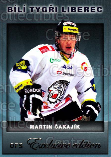2012-13 Czech OFS Exclusive #63 Martin Cakajik<br/>3 In Stock - $2.00 each - <a href=https://centericecollectibles.foxycart.com/cart?name=2012-13%20Czech%20OFS%20Exclusive%20%2363%20Martin%20Cakajik...&quantity_max=3&price=$2.00&code=582256 class=foxycart> Buy it now! </a>