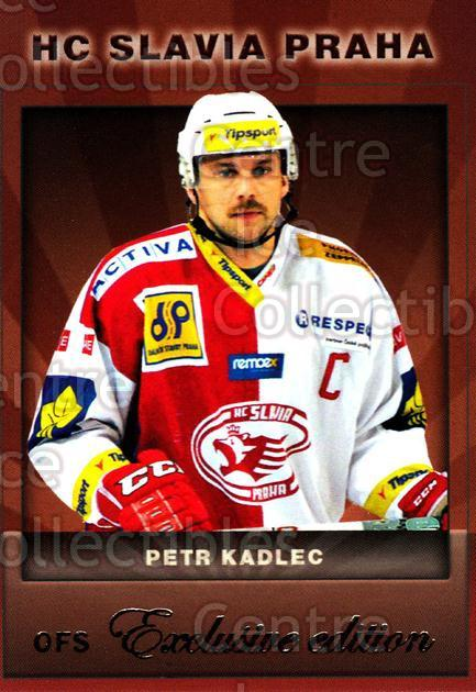 2012-13 Czech OFS Exclusive #64 Petr Kadlec<br/>3 In Stock - $2.00 each - <a href=https://centericecollectibles.foxycart.com/cart?name=2012-13%20Czech%20OFS%20Exclusive%20%2364%20Petr%20Kadlec...&quantity_max=3&price=$2.00&code=582257 class=foxycart> Buy it now! </a>