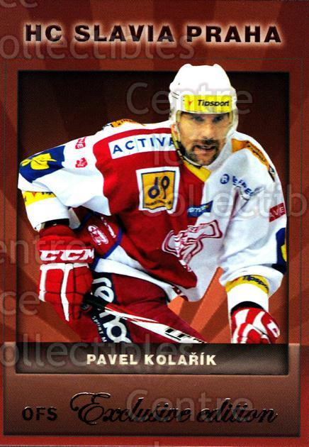 2012-13 Czech OFS Exclusive #66 Pavel Kolarik<br/>3 In Stock - $2.00 each - <a href=https://centericecollectibles.foxycart.com/cart?name=2012-13%20Czech%20OFS%20Exclusive%20%2366%20Pavel%20Kolarik...&quantity_max=3&price=$2.00&code=582259 class=foxycart> Buy it now! </a>