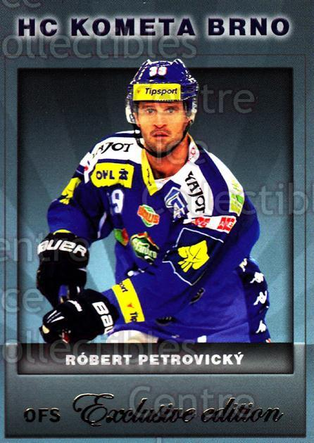 2012-13 Czech OFS Exclusive #67 Rebert Petrovicky<br/>3 In Stock - $2.00 each - <a href=https://centericecollectibles.foxycart.com/cart?name=2012-13%20Czech%20OFS%20Exclusive%20%2367%20Rebert%20Petrovic...&quantity_max=3&price=$2.00&code=582260 class=foxycart> Buy it now! </a>
