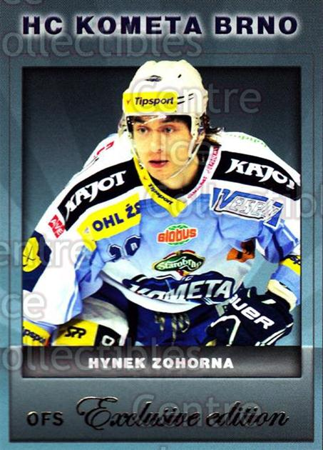 2012-13 Czech OFS Exclusive #69 Hynek Zohorna<br/>1 In Stock - $2.00 each - <a href=https://centericecollectibles.foxycart.com/cart?name=2012-13%20Czech%20OFS%20Exclusive%20%2369%20Hynek%20Zohorna...&quantity_max=1&price=$2.00&code=582262 class=foxycart> Buy it now! </a>