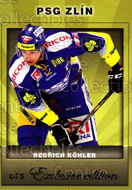 2012-13 Czech OFS Exclusive #72 Bedrich Kohler<br/>3 In Stock - $2.00 each - <a href=https://centericecollectibles.foxycart.com/cart?name=2012-13%20Czech%20OFS%20Exclusive%20%2372%20Bedrich%20Kohler...&quantity_max=3&price=$2.00&code=582265 class=foxycart> Buy it now! </a>