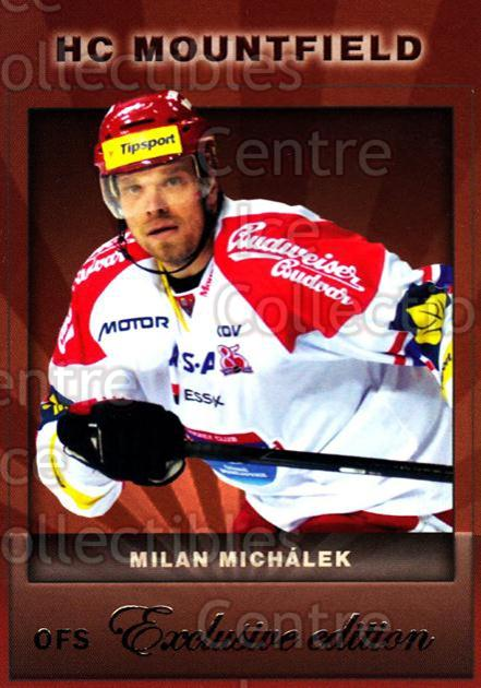 2012-13 Czech OFS Exclusive #76 Milan Michalek<br/>2 In Stock - $2.00 each - <a href=https://centericecollectibles.foxycart.com/cart?name=2012-13%20Czech%20OFS%20Exclusive%20%2376%20Milan%20Michalek...&quantity_max=2&price=$2.00&code=582269 class=foxycart> Buy it now! </a>
