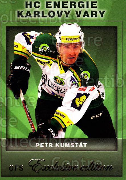 2012-13 Czech OFS Exclusive #80 Petr Kumstat<br/>3 In Stock - $2.00 each - <a href=https://centericecollectibles.foxycart.com/cart?name=2012-13%20Czech%20OFS%20Exclusive%20%2380%20Petr%20Kumstat...&quantity_max=3&price=$2.00&code=582273 class=foxycart> Buy it now! </a>