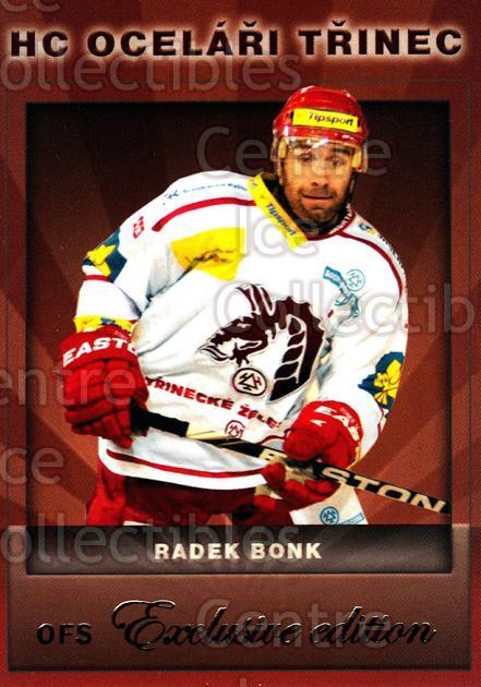 2012-13 Czech OFS Exclusive #82 Radek Bonk<br/>2 In Stock - $2.00 each - <a href=https://centericecollectibles.foxycart.com/cart?name=2012-13%20Czech%20OFS%20Exclusive%20%2382%20Radek%20Bonk...&quantity_max=2&price=$2.00&code=582275 class=foxycart> Buy it now! </a>