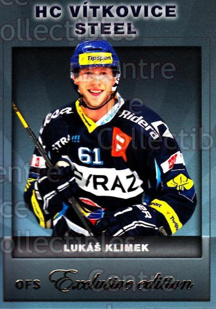 2012-13 Czech OFS Exclusive #88 Lukas Klimek<br/>3 In Stock - $2.00 each - <a href=https://centericecollectibles.foxycart.com/cart?name=2012-13%20Czech%20OFS%20Exclusive%20%2388%20Lukas%20Klimek...&quantity_max=3&price=$2.00&code=582281 class=foxycart> Buy it now! </a>