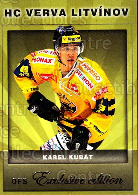 2012-13 Czech OFS Exclusive #90 Tomas Kubat<br/>3 In Stock - $2.00 each - <a href=https://centericecollectibles.foxycart.com/cart?name=2012-13%20Czech%20OFS%20Exclusive%20%2390%20Tomas%20Kubat...&quantity_max=3&price=$2.00&code=582283 class=foxycart> Buy it now! </a>