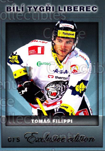 2012-13 Czech OFS Exclusive #91 Tomas Filippi<br/>3 In Stock - $2.00 each - <a href=https://centericecollectibles.foxycart.com/cart?name=2012-13%20Czech%20OFS%20Exclusive%20%2391%20Tomas%20Filippi...&quantity_max=3&price=$2.00&code=582284 class=foxycart> Buy it now! </a>