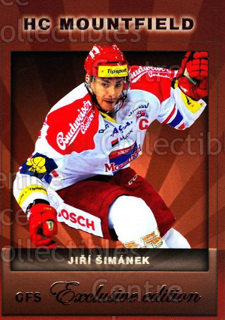2012-13 Czech OFS Exclusive #95 Jiri Simanek<br/>3 In Stock - $2.00 each - <a href=https://centericecollectibles.foxycart.com/cart?name=2012-13%20Czech%20OFS%20Exclusive%20%2395%20Jiri%20Simanek...&quantity_max=3&price=$2.00&code=582288 class=foxycart> Buy it now! </a>