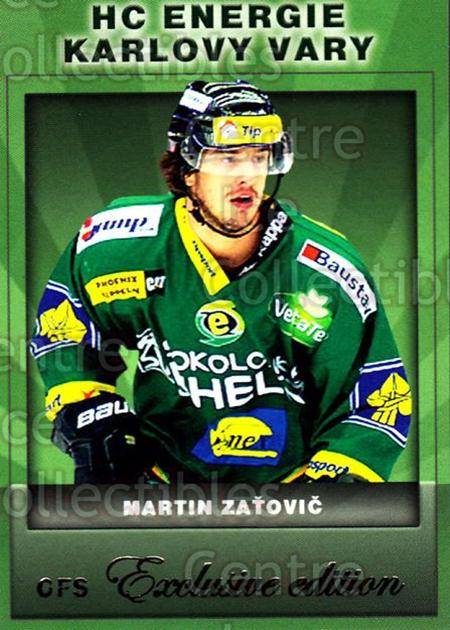 2012-13 Czech OFS Exclusive #96 Martin Zatovic<br/>3 In Stock - $2.00 each - <a href=https://centericecollectibles.foxycart.com/cart?name=2012-13%20Czech%20OFS%20Exclusive%20%2396%20Martin%20Zatovic...&quantity_max=3&price=$2.00&code=582289 class=foxycart> Buy it now! </a>