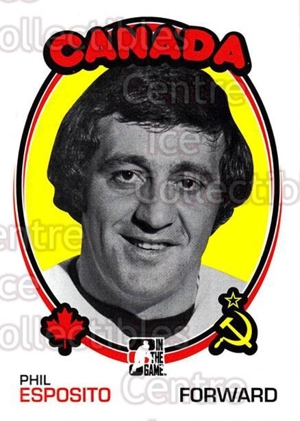 2009-10 ITG 1972 The Year In Hockey Blank Backs #159 Phil Esposito<br/>2 In Stock - $5.00 each - <a href=https://centericecollectibles.foxycart.com/cart?name=2009-10%20ITG%201972%20The%20Year%20In%20Hockey%20Blank%20Backs%20%23159%20Phil%20Esposito...&quantity_max=2&price=$5.00&code=582522 class=foxycart> Buy it now! </a>