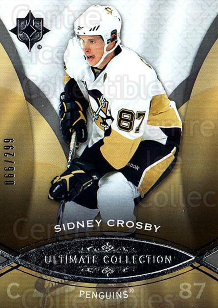 2008-09 UD Ultimate Collection #32 Sidney Crosby<br/>1 In Stock - $15.00 each - <a href=https://centericecollectibles.foxycart.com/cart?name=2008-09%20UD%20Ultimate%20Collection%20%2332%20Sidney%20Crosby...&quantity_max=1&price=$15.00&code=582837 class=foxycart> Buy it now! </a>