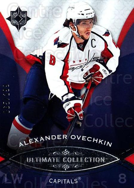 2008-09 UD Ultimate Collection #42 Alexander Ovechkin<br/>1 In Stock - $5.00 each - <a href=https://centericecollectibles.foxycart.com/cart?name=2008-09%20UD%20Ultimate%20Collection%20%2342%20Alexander%20Ovech...&price=$5.00&code=582847 class=foxycart> Buy it now! </a>