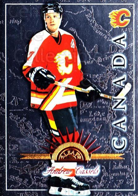 1997-98 Leaf International #106 Andrew Cassels<br/>6 In Stock - $1.00 each - <a href=https://centericecollectibles.foxycart.com/cart?name=1997-98%20Leaf%20International%20%23106%20Andrew%20Cassels...&quantity_max=6&price=$1.00&code=58324 class=foxycart> Buy it now! </a>