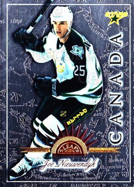 1997-98 Leaf International #108 Joe Nieuwendyk<br/>6 In Stock - $1.00 each - <a href=https://centericecollectibles.foxycart.com/cart?name=1997-98%20Leaf%20International%20%23108%20Joe%20Nieuwendyk...&quantity_max=6&price=$1.00&code=58326 class=foxycart> Buy it now! </a>