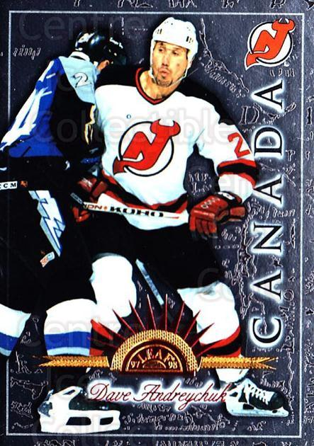 1997-98 Leaf International #116 Dave Andreychuk<br/>5 In Stock - $1.00 each - <a href=https://centericecollectibles.foxycart.com/cart?name=1997-98%20Leaf%20International%20%23116%20Dave%20Andreychuk...&quantity_max=5&price=$1.00&code=58335 class=foxycart> Buy it now! </a>