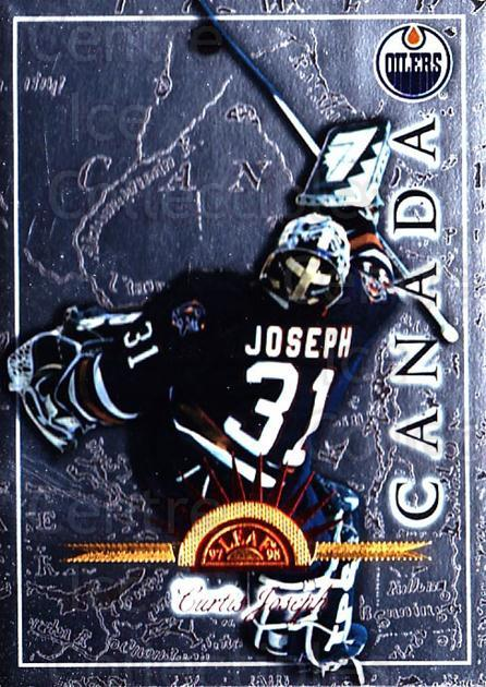1997-98 Leaf International #16 Curtis Joseph<br/>4 In Stock - $1.00 each - <a href=https://centericecollectibles.foxycart.com/cart?name=1997-98%20Leaf%20International%20%2316%20Curtis%20Joseph...&quantity_max=4&price=$1.00&code=58372 class=foxycart> Buy it now! </a>
