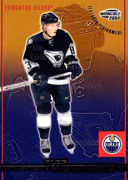 2003-04 Invincible Featured Performers #12 Ales Hemsky<br/>6 In Stock - $2.00 each - <a href=https://centericecollectibles.foxycart.com/cart?name=2003-04%20Invincible%20Featured%20Performers%20%2312%20Ales%20Hemsky...&quantity_max=6&price=$2.00&code=583963 class=foxycart> Buy it now! </a>