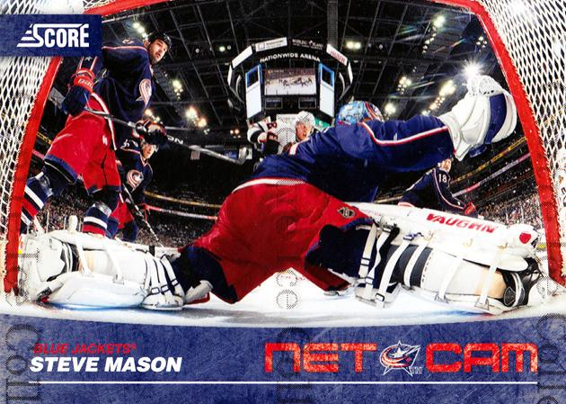 2010-11 Score Net Cam #9 Steve Mason<br/>2 In Stock - $2.00 each - <a href=https://centericecollectibles.foxycart.com/cart?name=2010-11%20Score%20Net%20Cam%20%239%20Steve%20Mason...&quantity_max=2&price=$2.00&code=584013 class=foxycart> Buy it now! </a>