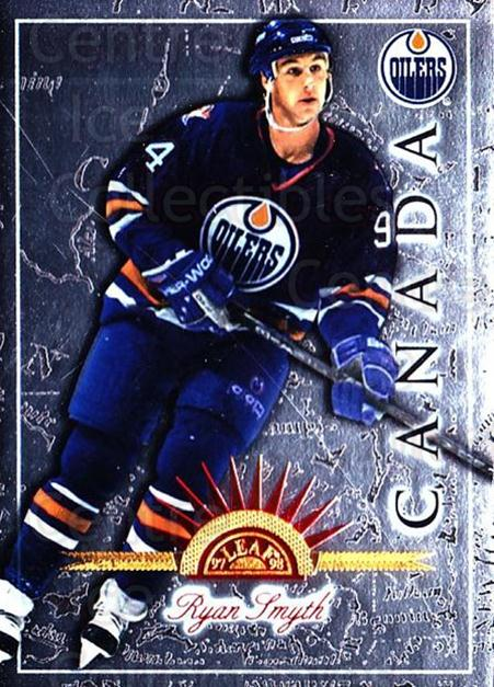 1997-98 Leaf International #49 Ryan Smyth<br/>6 In Stock - $1.00 each - <a href=https://centericecollectibles.foxycart.com/cart?name=1997-98%20Leaf%20International%20%2349%20Ryan%20Smyth...&quantity_max=6&price=$1.00&code=58407 class=foxycart> Buy it now! </a>